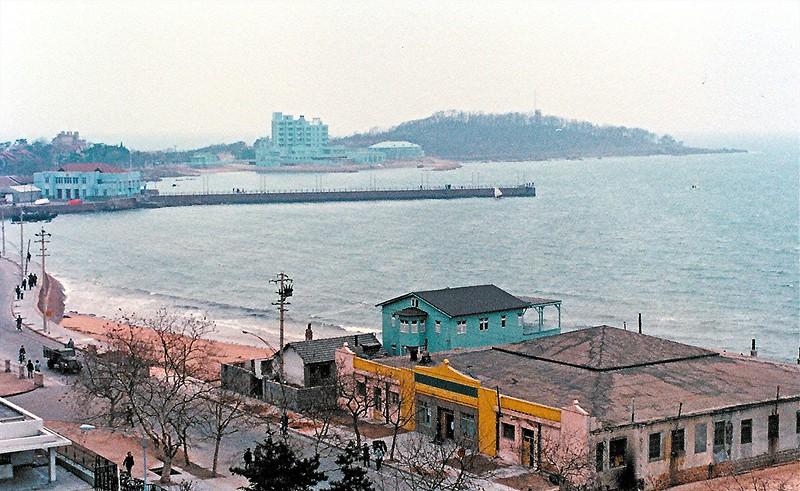 Qingdao coast.