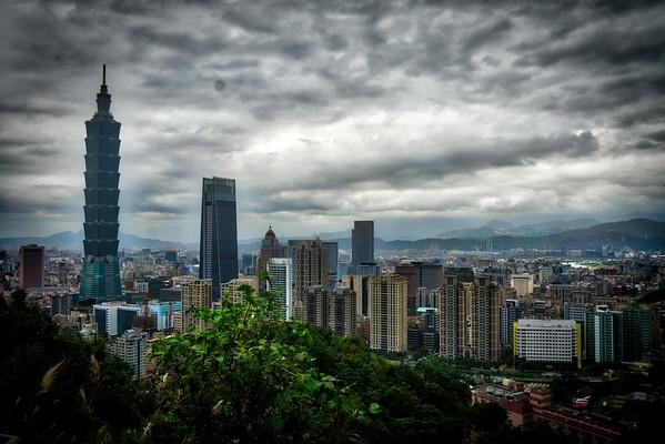 Taipei Cityscape HDR