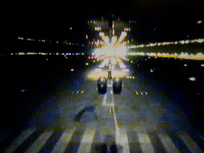 Approaching HKG runway