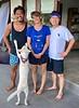 With Odi, Nina, & Nala