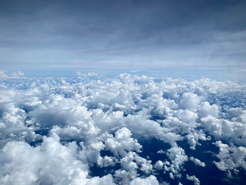 Clouds enroute HKG to DPS