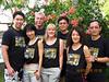 Third Workshop participants: L-R, Luke, Mabel, Dave, Marli, Kevin, Jane and Shan<br /> Villa Markisa, Tulamben, Bali, Indonesia