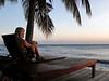 Marli Wakeling (Canadian) enjoying a Balinese sunrise