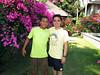 Bali's #1 best slug spotter, Darma, and Kevin.<br /> Villa Markisa, Tulamben, Bali, Indonesia.