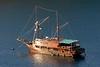 Archipelago Adventurer II, anchored in Wayag
