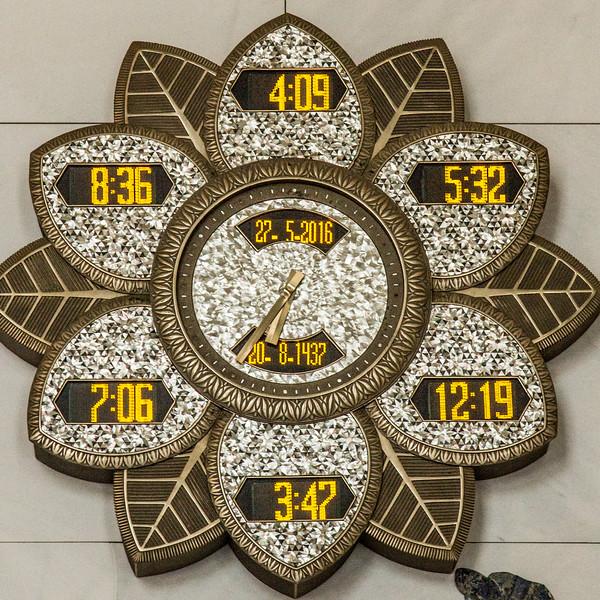 Prayer Clock at Sheikh Zayed bin Sultan Grand Mosque, Abu Dhabi (33)