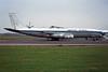 """YA-GAF Boeing 707-324C """"Balkh Airlines"""" c/n 19177 Ostend/EBOS/OST 20-10-97 """"Uganda Airline Cargo"""" (35mm slide)"""