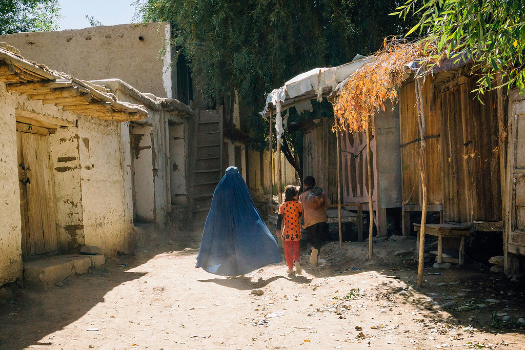 Burqa in Afghanistan