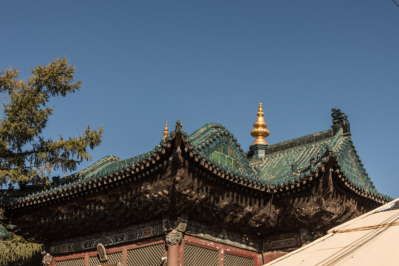 Roof tiles and details