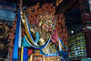 A dharmapāla is a type of wrathful god in Buddhism.