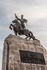 Statue of  Damdin Sükhbaatar (1893 – 1923)