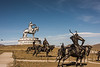 Bronze horsemen
