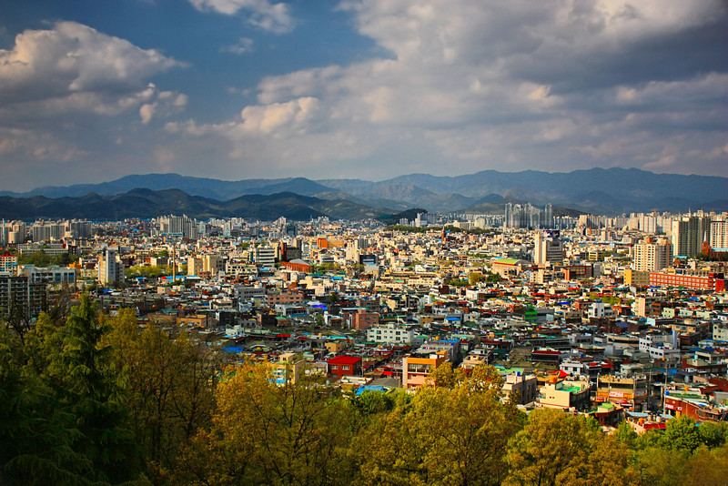 Colorful Daegu, Korea.
