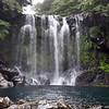 "Cheonjeyeon Falls:  ""Pond of Heaven's Emperor"", Jeju Island, Korea."