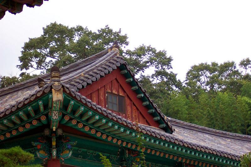 Compound of a Buddhist temple complex.