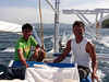 Brothers Buddy and Jeremy, boat tenders extraordinaire<br /> Club Ocellaris<br /> Anilao, Philippines