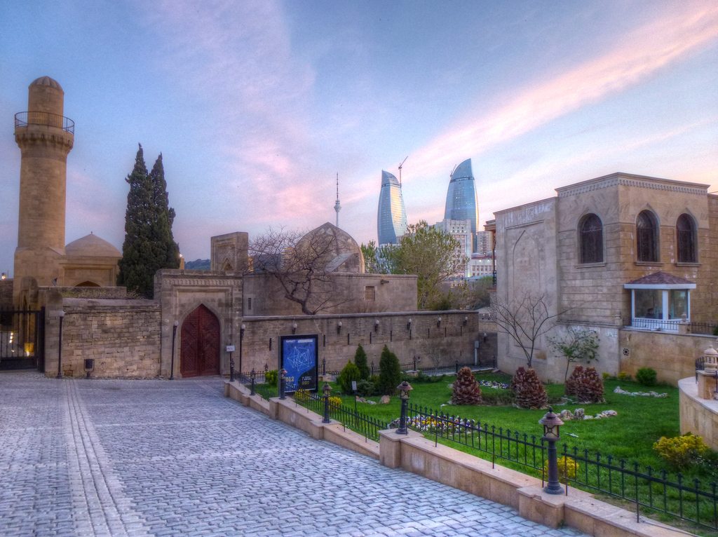 Dusk In The Old City, Baku, Azerbaijan