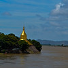 Lawkananda Pagoda on the river