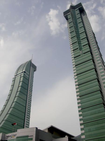 Skyscrapers in Manama, Bahrain.