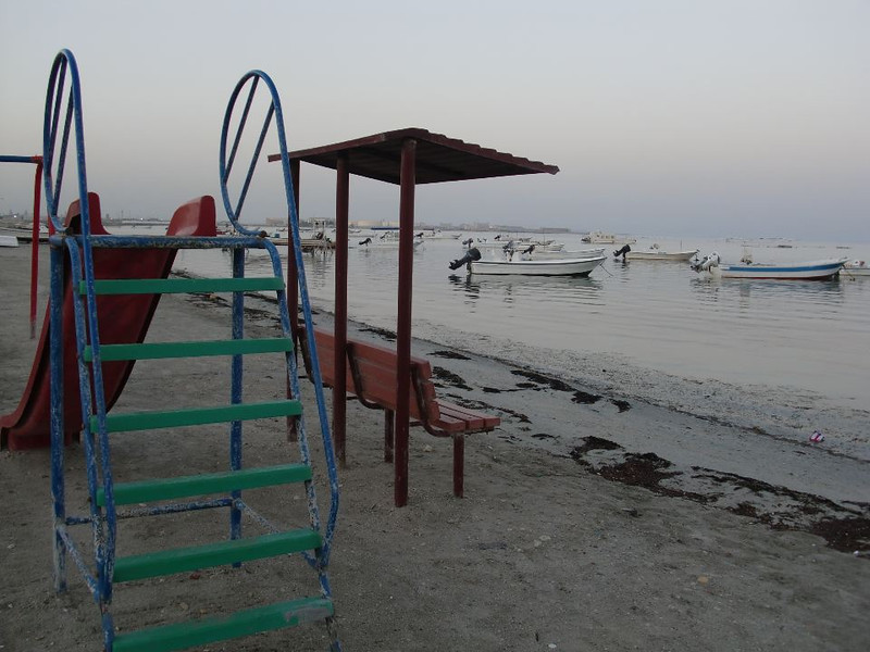 The shores of Sitra, Bahrain.