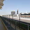 The Formula 1 racetrack in Bahrain.