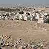The view from the Riffa (Sh.Salman bin Ahmed Fort) Al Fateh Fort In Bahrain.