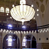 Inside Al Fateh Mosque in Bahrain.