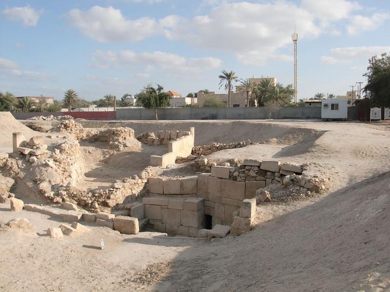 The Barbar Temple in Manama, Bahrain.