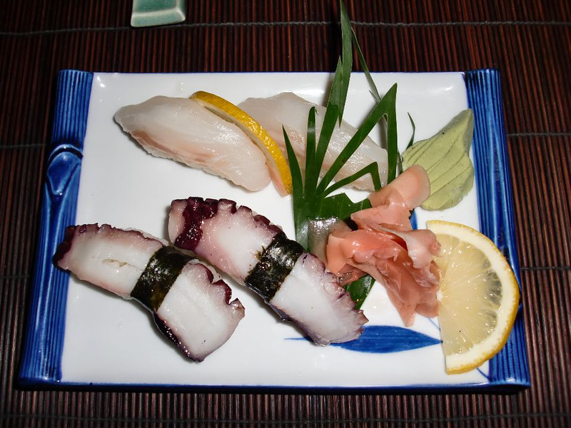 Sushi in Manama, Bahrain.
