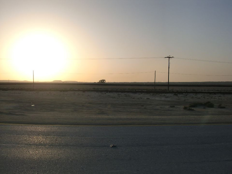 Sirta, Bahrain at sunset.