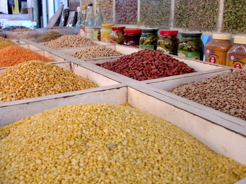 Beans for sale in Manama, Bahrain.