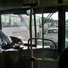 Inside a bus in Manama, Bahrain.