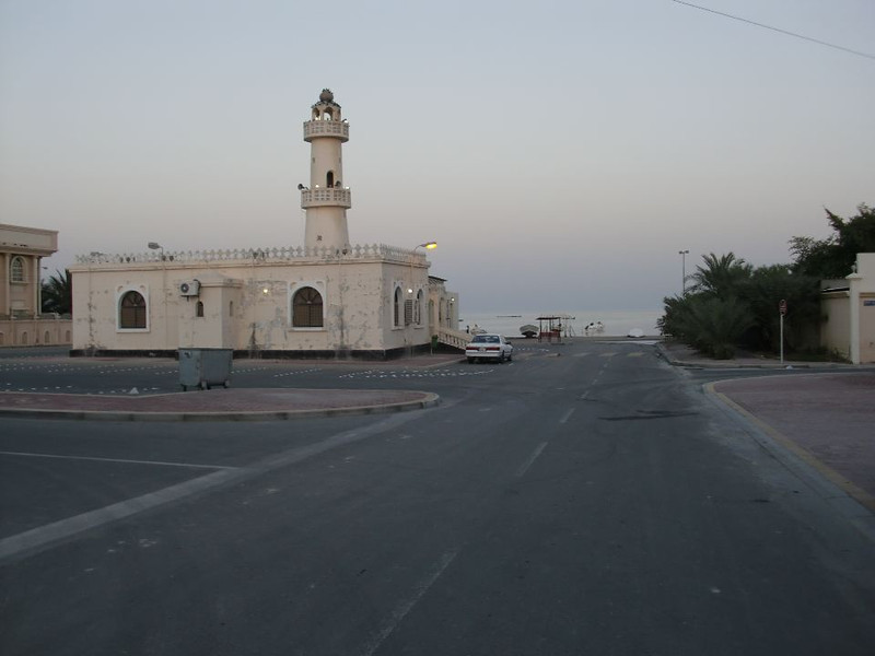 The streets around Sitra, Bahrain.