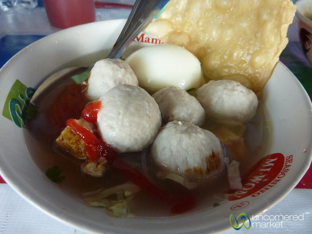 Bakso (Soup) - Sanur, Bali