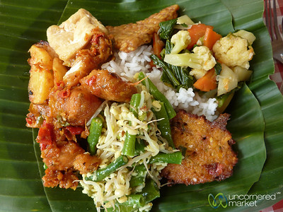 Nasi Campur (Mixed Rice) - Bali, Indonesia