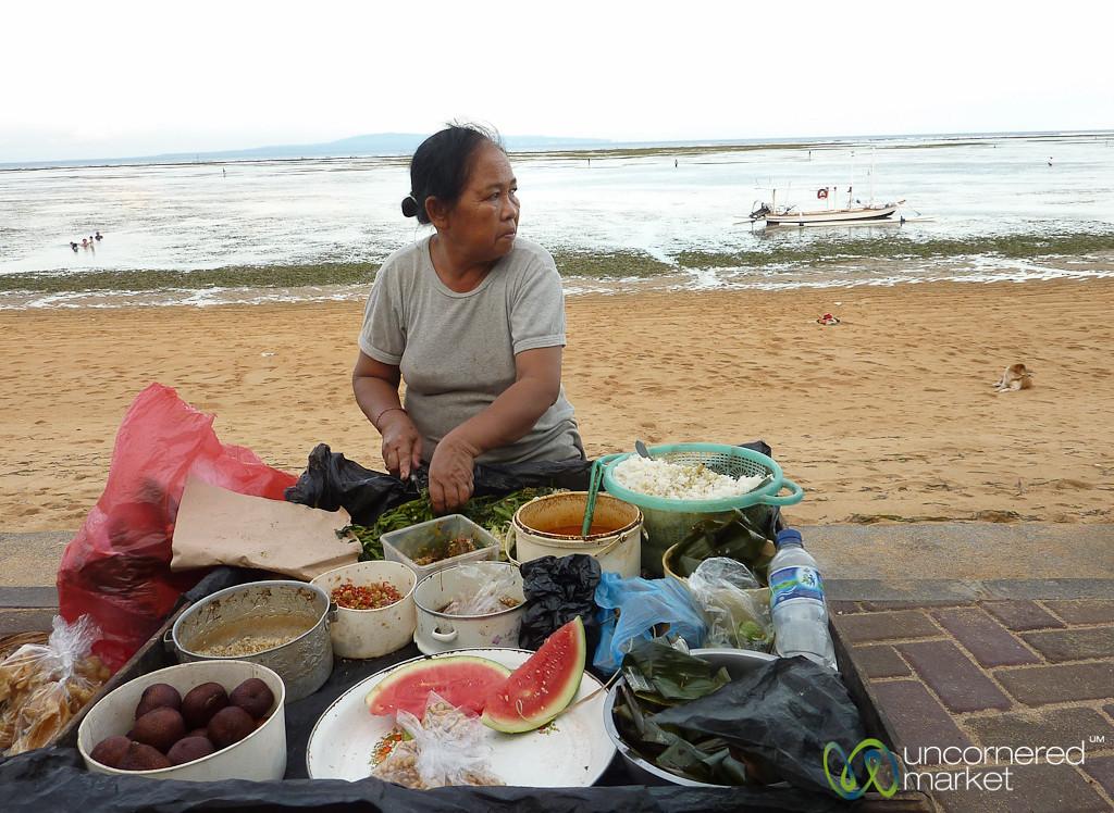 Street Food at Sanur Beach - Bali, Indonesia