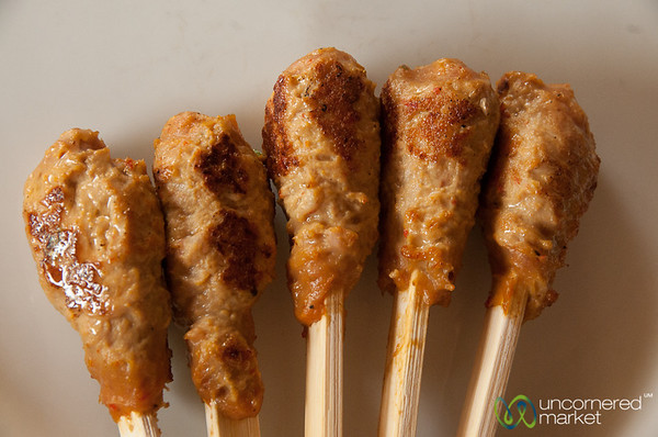 Grilled Sate Lilit - Bali, Indonesia