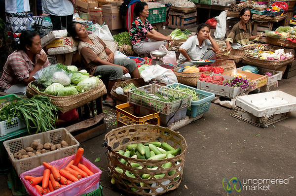 Nap Time at the Market - Ubud, Bali