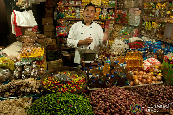 Balinese Food Lesson at Ubud Market - Bali, Indonesia