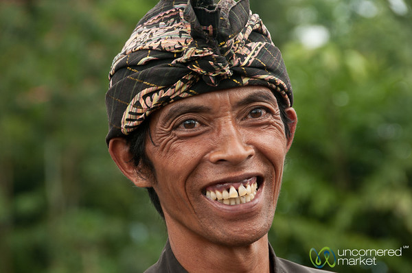 Our Friendly Local Guide at Besakih Temple in Bali