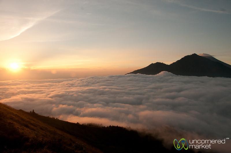 Sunrise at Mt. Batur - Bali, Indonesia