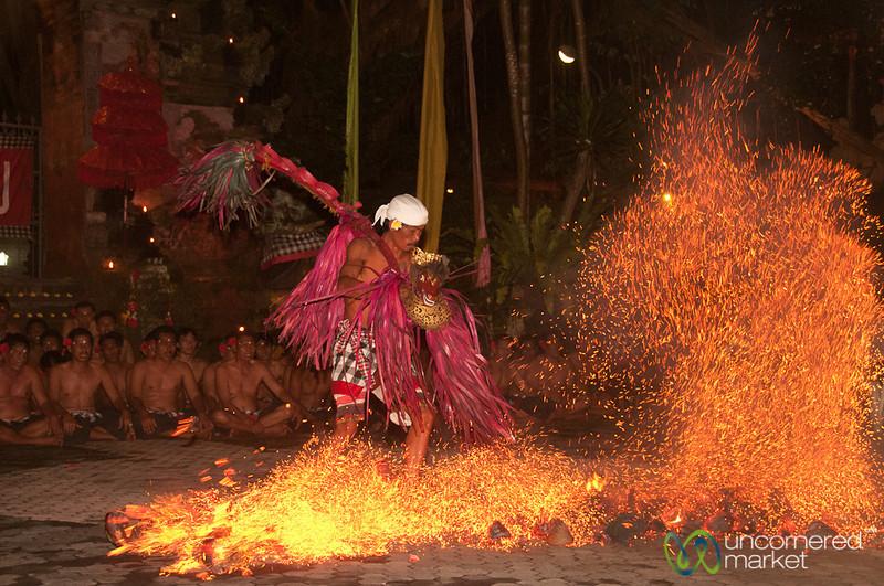 Fire Trance Dance - Ubud, Bali