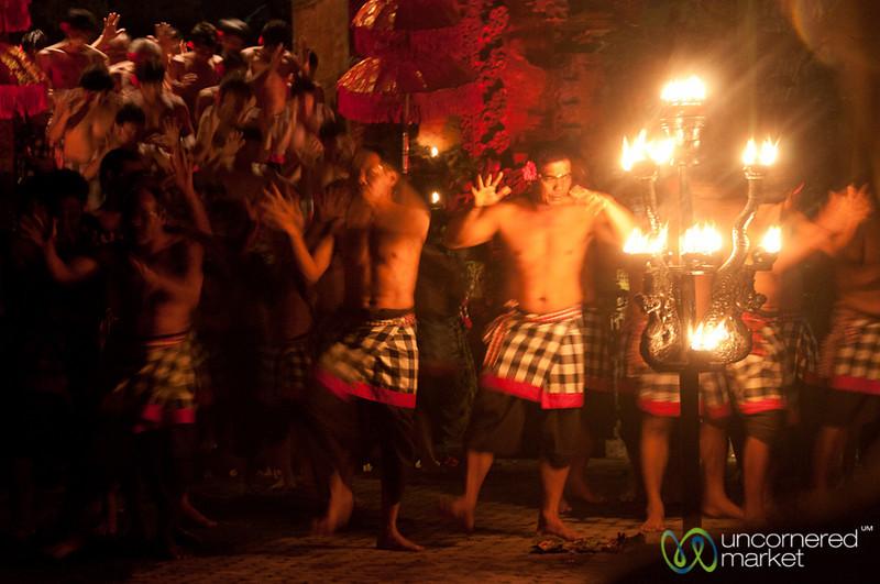 Kecak Performers - Ubud, Bali