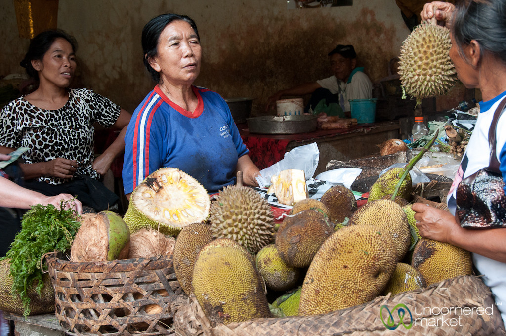 Durian Melon Shopping - Bali, Indonesia