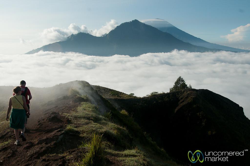 Hiking Along Mt. Batur - Bali, Indonesia