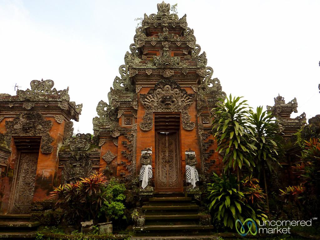 Entrance to Hindu Temple - Ubud, Bali
