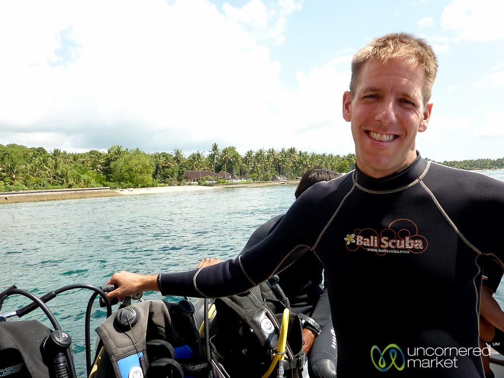 Scuba Diving at Nusa Penida - Bali, Indonesia