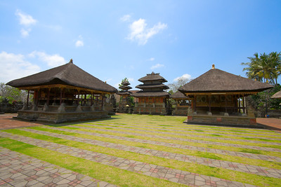 Inside Hindu temple