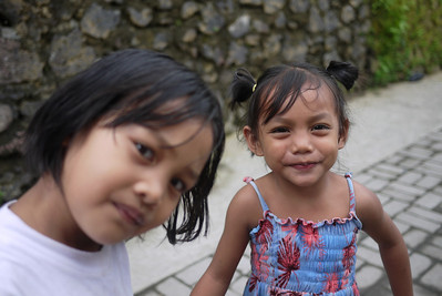 Cute Balinese kids