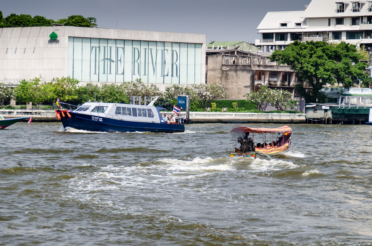 The Chao Phraya River is a commuter route too.